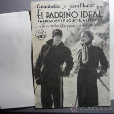 Cine: PROGRAMA CINE DOBLE EL PADRINO IDEAL .- ANNABELLA PUBLICIDAD. Lote 33461586