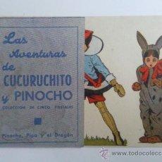 Cine: LAS AVENTURAS DE CUCURUCHITO Y PINOCHO, PINOCHO, PIPA Y EL DRAGON. Lote 33499518