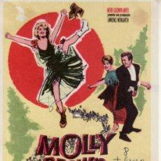 Cine: MOLLY BROWN - 1966 CON PROPAGANDA. Lote 33619865