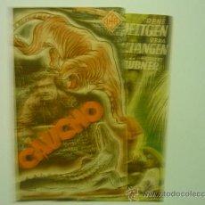 Cine: PROGRAMA CINE DOBLE CAUCHO--PUBLICIDAD. Lote 33640436