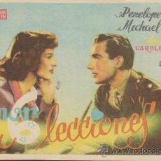 Cine: AMOR EN 6 LECCIONES. SENCILLO DE CHAMARTÍN. CINE ESPAÑOL - ANDUJAR 1947.. Lote 178603418