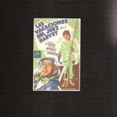 Cine: LAS VACACIONES DEL JUEZ HARVEY. Lote 33671436
