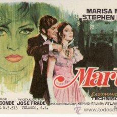 Cine: MARTA - MARISA MELL Y STEPHEN BOYD -SIN PROPAGANDA. MÁS COLECCIONISMO EN RASTRILLO PORTOBELLO. Lote 33715837