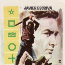 Cine: LOS MUERTOS NO PERDONAN- JAVIER ESCRIVA - CON PROPAGANDA. MÁS COLECCIONISMO EN RASTRILLO PORTOBELLO. Lote 33716205