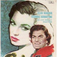 Cine: EL MILAGRO DE LOS LOBOS - JEAN MARAIS - SIN PROPAGANDA. MÁS COLECCIONISMO EN RASTRILLO PORTOBELLO. Lote 33717395