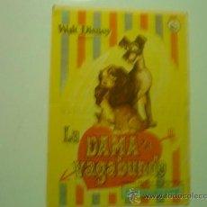 Cine: PROGRAMA CINE LA DAMA Y EL VAGABUNDO.-DISNEY. Lote 33799633