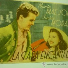 Cine: PROGRAMA CINE LA CASA ENCANTADA. Lote 33942729
