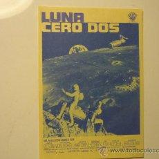 Foglietti di film di film antichi di cinema: PROGRAMA CINE LUNA CERO DOS. Lote 33990820