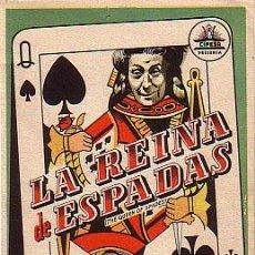 Cine: LA REINA DE ESPADAS. Lote 33987434
