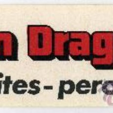 Cine: BRUCE LEE. OPERACION DRAGON. ADESIVO.. Lote 174313160