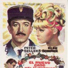 Cine: EL NUEVO CASO DEL INSPECTOR CLOUSEAU-PETER SELLERS-ELKE SOMMER-COLECCIONISMO EN RASTRILLO PORTOBELLO. Lote 34001857