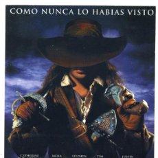 Cine: EL MOSQUETERO, CON CATHERINE DENEUVE.. Lote 171713912
