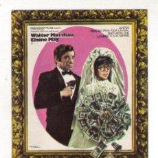 Cine: CORAZON VERDE - WALTER MATTHAU - 1971 - SIN PUBLICIDAD. Lote 34051696