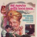 Cine: MI NOVIO ESTÁ LOCO, LOCO...- TONY RANDALL- -MÁS COLECCIONISMO EN RASTRILLO PORTOBELLO. Lote 34097060