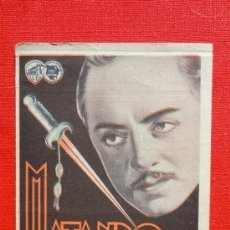 Cine: MATANDO EN LA SOMBRA, DOBLE EXCELENTE ESTADO 1935, WILLIAM POWELL MARI ASTOR, CON PUBLI SALA REUS. Lote 52477079