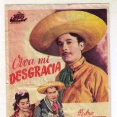 Kino - VIVA MI DESGRACIA - PEDRO INFANTE - 1944 - PUBLICIDAD EN CINEMA ELISEOS - 35881359