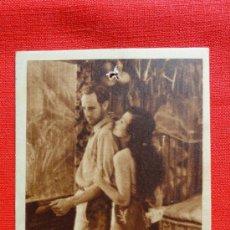 Foglietti di film di film antichi di cinema: PROHIBIDO, TARJETA MGM 1932, LESLIE HOWARD CONCHITA MONTENEGRO, PUBLI GRAN CONCURSO MGM. Lote 34200667