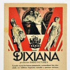 Cine: DIXIANA. PROGRAMA DE CINE. CINE COLISEUM PONTEVEDRA. Lote 34217694