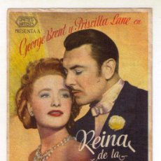 Cine: REINA DE LA PLATA - GEORGE BRENT - 1942 - PUBLICIDAD EN AVENIDA. Lote 34240418