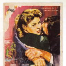 Cine: RECUERDA - INGRID BERGMAN - 1945 - PUBLICIDAD CINE SAN FERNANDO. Lote 34254979