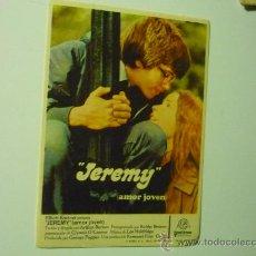 Cine: PROGRAMA CINE JEREMY. Lote 34269261