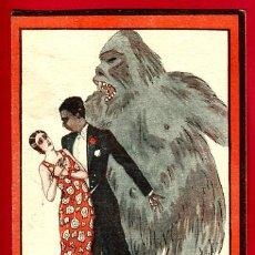 Cine: EL NEGRO QUE TENIA EL ALMA BLANCA 1928 , SENCILLO , CARTULINA , ORIGINAL, S1957. Lote 34329238
