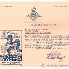 Cine: SEGUNDO LOPEZ PROGRAMA CARTA SENCILLO LATINA FILMS CINE ESPAÑOL ANA MARISCAL. Lote 34359583