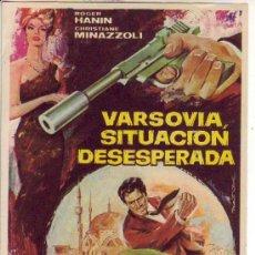 Cine: VARSOVIA SITUACION DESESPERADA. Lote 34376913