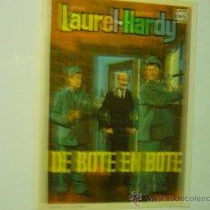 Cine: PROGRAMA CINE DE BOTE EN BOTE.-LAUREL Y HARDY. Lote 34395193
