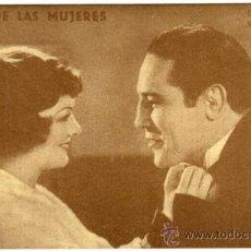 Flyers Publicitaires de films Anciens: PROGRAMA CINE - IDOLO DE LAS MUJERES - MAX BAOR - PRIMO CARNERA - MIRNA LOY. Lote 36420050
