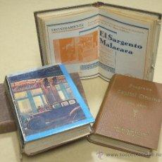 Cine: D LOTE DE CUATRO VOLUMENES DE PROGRAMAS ENCUADERNADOS CAPITOL CINEMA 1926-1928. Lote 34400937