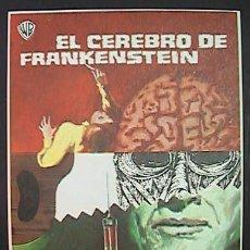Cine: EL CEREBRO DE FRANKENSTEIN,, (1/35) FM, SIN PUBLICIDAD, VER FOTO. Lote 176358984