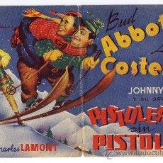 Cine: PISTOLEROS SIN PISTOLAS - BUD ABBOTT - LOU COSTELLO - 1943 - SIN PUBLICIDAD. Lote 34446475