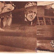 Cine: EL RAYO DE PLATA PROGRAMA DOBLE RKO FILMS SALLY BLANE CHARLES STARRET. Lote 34467066