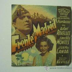 Cine: PROGRAMA CINE DOBLE FRENTE DE MADRID .- RAFAEL RIVELLES -PUBLICIDAD. Lote 34515531