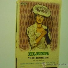 Cine: PROGRAMA CINE ELENA Y LOS HOMBRES.-INGRID BERGMAN. Lote 34665788