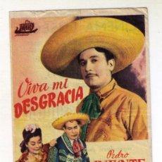 Kino - VIVA MI DESGRACIA - PEDRO INFANTE - 1944 - PUBLICIDAD EN CINEMA ELISEOS - 34699312