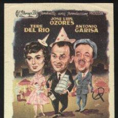 Flyers Publicitaires de films Anciens: P-0183- EL GAFE (JOSÉ LUIS OZORES - TERESA DEL RÍO - ANTONIO GARISA - JULIA CABA ALBA). Lote 34721319