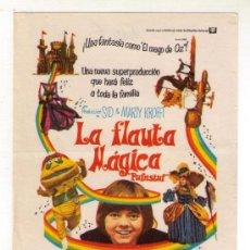 Kino - LA FLAUTA MÁGICA - JACK WILD - 1970 - SIN PUBLICIDAD - 34729167
