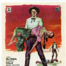 Cine: EL HOMBRE DE OKLAHOMA, CON JOEL MCCREA.. Lote 267873039