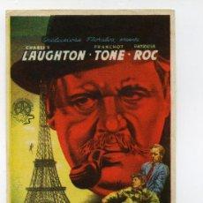 Cine: EL HOMBRE DE LA TORRE EIFFEL, CON FRANCHOT TONE.. Lote 118593842