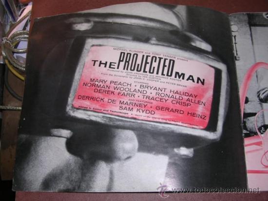 Cine: PROGRAMA CINE - THE PROJECTED MAN - DIRECTED IAN CURTEIS , MARY PEACH ,BRYANT HALIDAY - COMPTON - CA - Foto 2 - 34804543