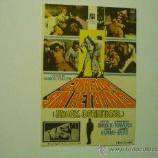Flyers Publicitaires de films Anciens: PROGRAMA CORREDOR SIN RETORNO -. Lote 34847198