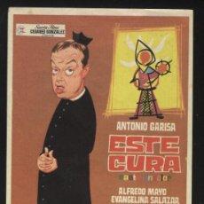 Cine: P-0214- ESTE CURA (ANTONIO GARISA - EVANGELINA SALAZAR - ALFREDO MAYO - JAVIER PORTALES). Lote 34851416