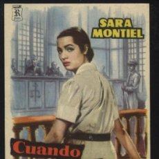 P-0219- CUANDO SE QUIERE DE VERAS (R Films) (CINE VERGARA) (SARA MONTIEL - DAVID LAMA)