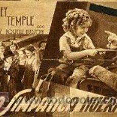 Cine: LA SIMPATICA HUERFANITA.- SENCILLO-CARTULINA.- REVERSO SALON DORE. 4.4.1936.. Lote 34901241