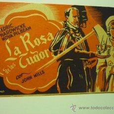 Cine: PROGRAMA CINE LA ROSA DE LOS TUDOR .- JOHN MILLS. Lote 34928581