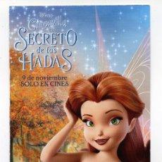 Cine: CAMPANILLA, EL SECRETO DE LAS HADAS, DIBUJOS ANIMADOS.. Lote 36550129