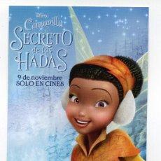 Cine: CAMPANILLA, EL SECRETO DE LAS HADAS, DIBUJOS ANIMADOS.. Lote 36550155