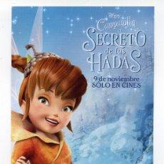 Cine: CAMPANILLA, EL SECRETO DE LAS HADAS, DIBUJOS ANIMADOS.. Lote 36550145